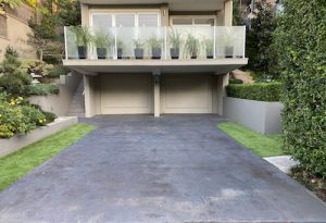 Before Concrete Driveway Overlay Northern Beaches