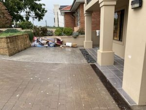 before driveway makeover southern sydney