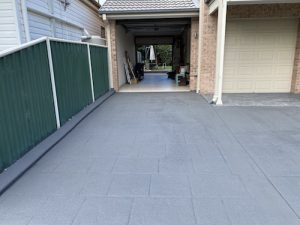 after concrete resurfacing southern sydney