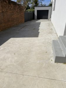 before concrete painting services southern sydney