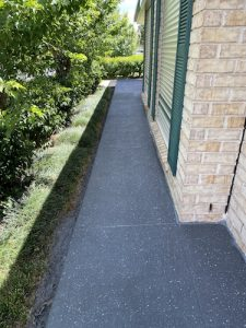 after concrete spraying services for paths