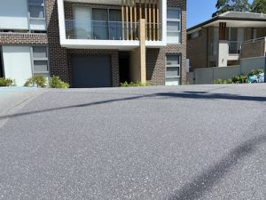 after concrete driveway resurfacing north west sydney